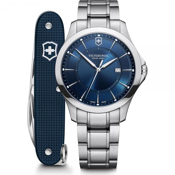 Victorinox Herrenuhr Alliance und Schweizer Taschenmesser im Set 241910.1