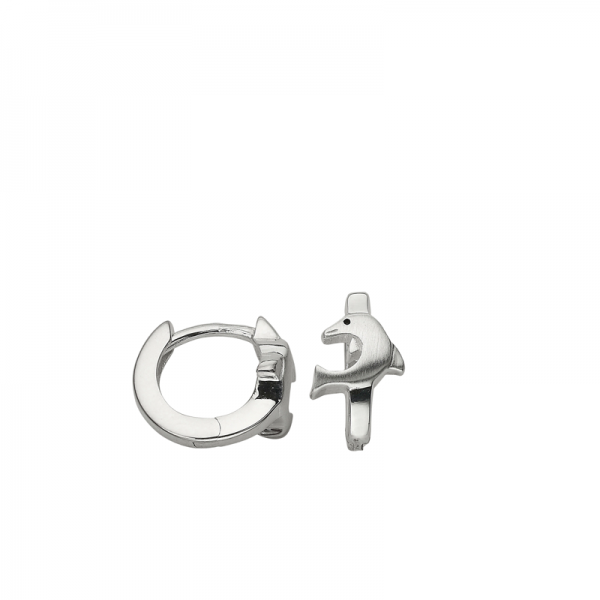 CEM 925er Silber Creolen Delfin BCR900525