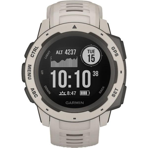 Garmin Instinct Tundra Herren Smartwatch Hellgrau 010-02064-01
