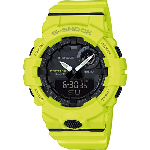 Casio G-Shock Steptracker Bluetooth Uhr GBA-800-9AER