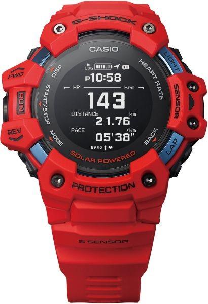 Casio G-Shock Herrenuhr Move Pulsmesser GBD-H1000-4ER