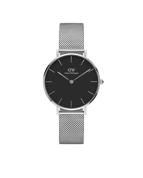 Daniel Wellington DW00100162 Classic Petite Sterling Black Damenuhr