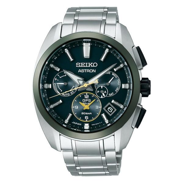 Seiko Astron GPS Solar Dual Time Limited Edition Herrenuhr SSH071J1
