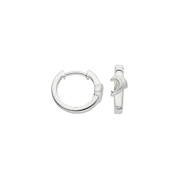 CEM 925 er Silber Creolen Delfin BCR905336