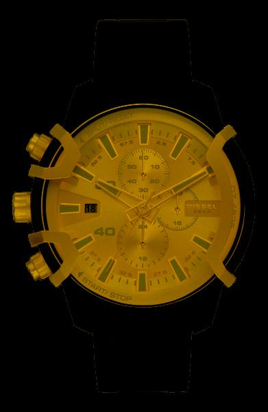Diesel Herrenuhr Chronograph DZ4525