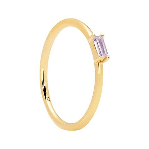 PD Paola Damen Goldring Purple Amani AN01-148-14