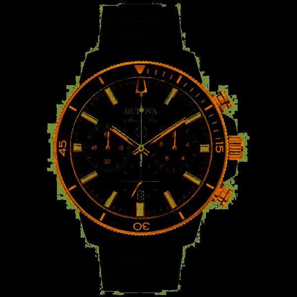 Bulova Herrenuhr Marine Star 98B302
