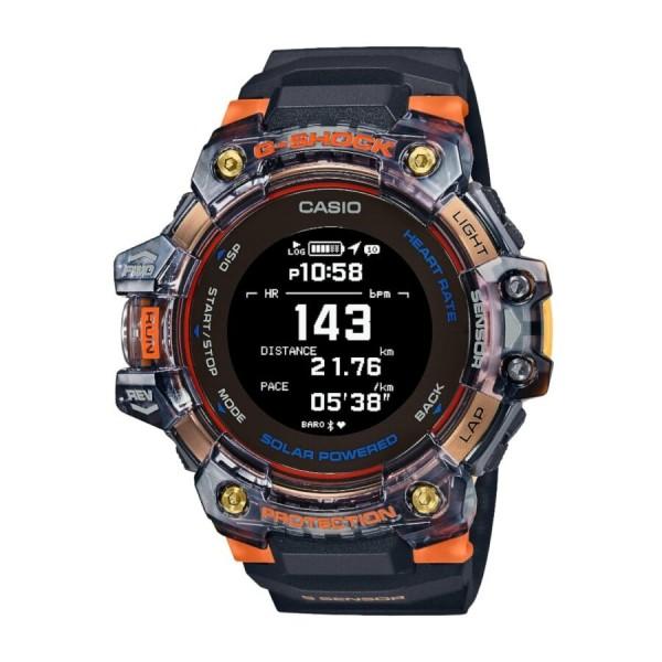 Casio G-Shock Herrenuhr Move Pulsmesser Solar GBD-H1000-1A4ER