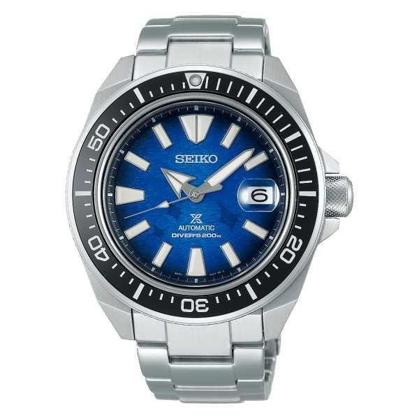 Seiko Herrenuhr Automatik Save the Ocean Special Edition SRPE33P1