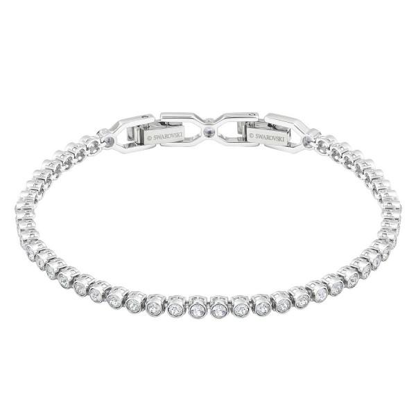 Swarovski Emily Armband Cry/Rhs M , Rhodium , Crystal 1808960