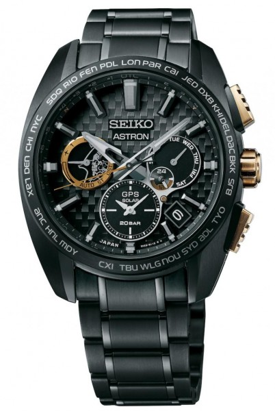 Seiko Astron GPS Solar Dual Time Kojima Productions 5th Anniversary Limited Edition SSH097J1