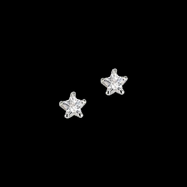 CEM 925er Silber Ohrstecker Stern BOS905086
