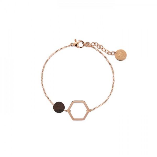 Kerbholz Damenschmuck Twin Charm Bracelet GEOTWI5284