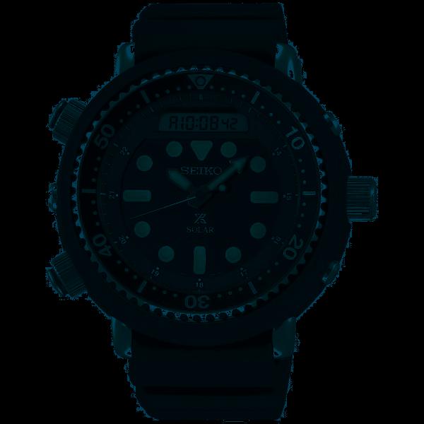 Seiko Prospex SEA Solar Diver's Herrenuhr SNJ025P1