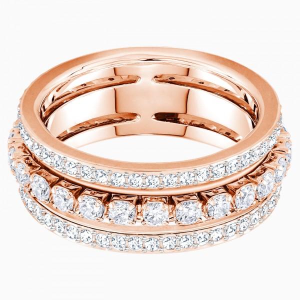 Swarovski Further Ring, rosé vergoldet, 5441195