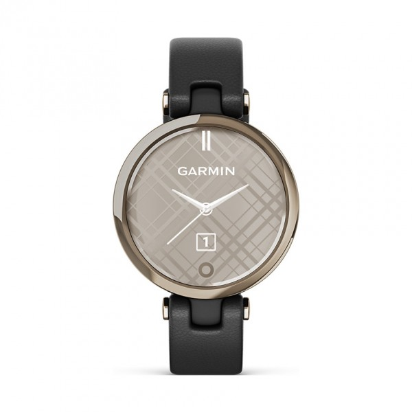 Garmin Damenuhr Smartwatch Lily Classic Schwarz/Elfenbein 010-02384-B1