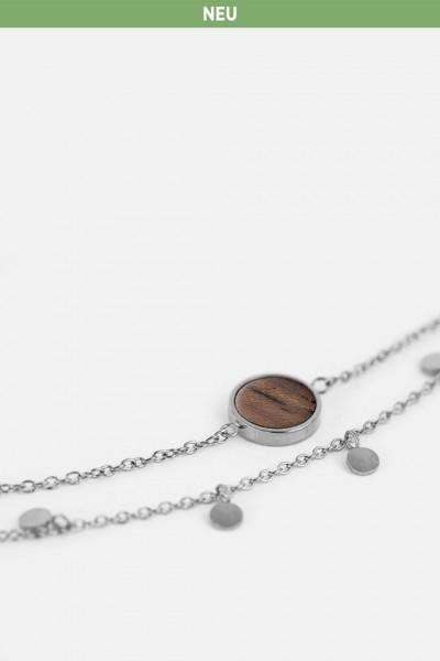 Kerbholz Damenschmuck Circle Double Bracelet GEOCIR7301
