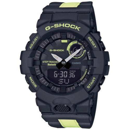 Casio G-Shock Herrenuhr G-Squad GBA-800LU-1A1ER