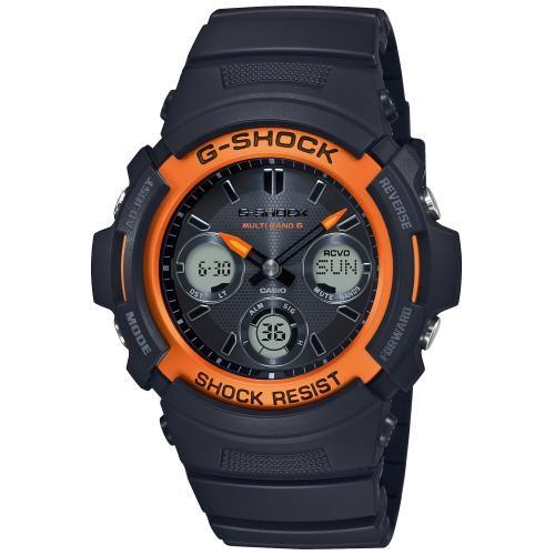Casio G-Shock Herrenuhr Funk Solar Uhr AWG-M100SF-1H4ER