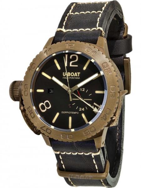 U-BOAT Herren Uhr DOPPIOTEMPO 46 BRONZO BR 9008