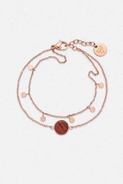 Kerbholz Damenschmuck Circle Double Bracelet GEOCIR7295